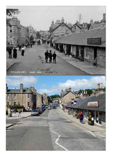 Pitlochry Rephotographed July 2011